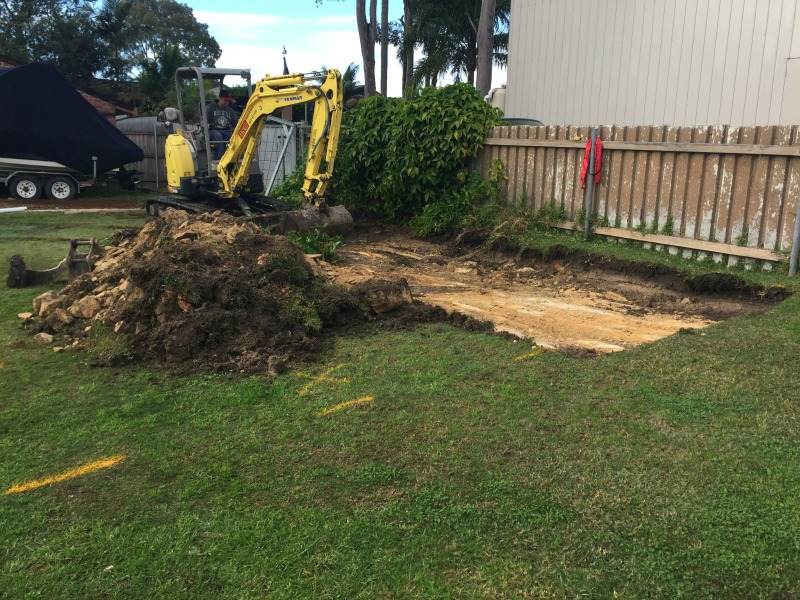 T&D Earthworks site excavation in Lake Macquarie