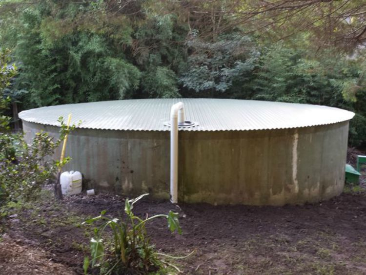 new water tank roof