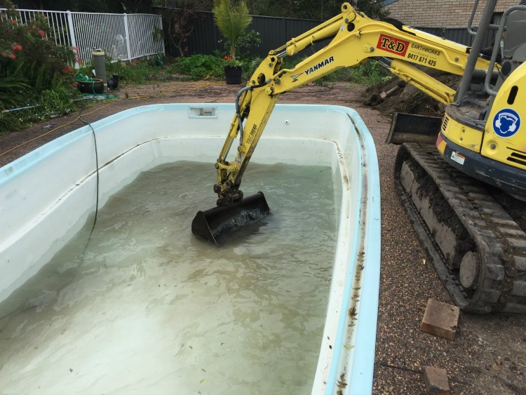 fibreglass-pool-removal-hunter-valley