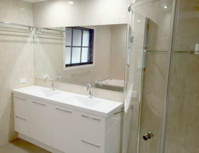 Jarrad mitchell constructions custom design home for Bathroom design jobs newcastle